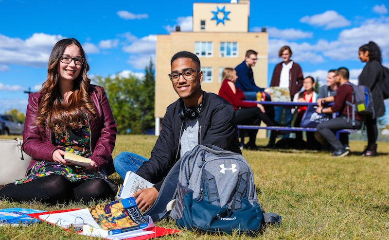 Students on campus for STMU. Photo Credit: Sergei Belski